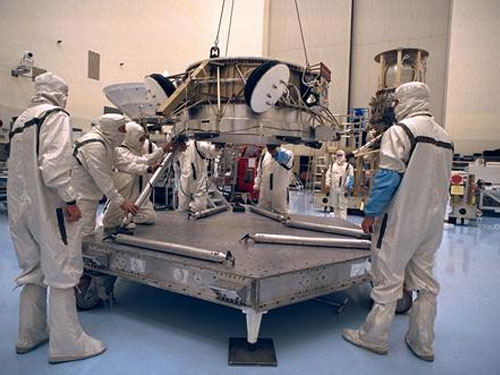 stonlux epoxy flooring in nasa aerospace facility